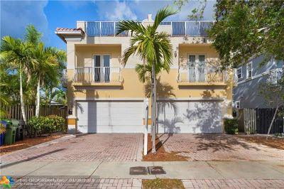 Fort Lauderdale Condo/Townhouse For Sale: 625 SW 7th Av #1