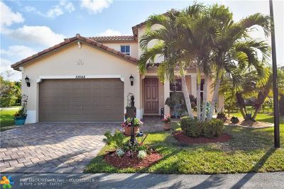 Coral Springs Single Family Home For Sale: 10648 NW 36th St