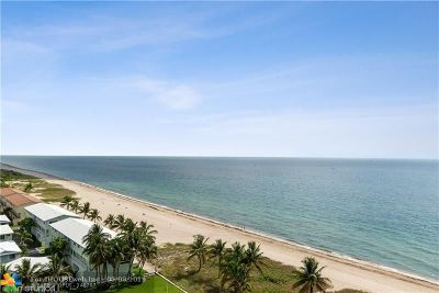 Lauderdale By The Sea Condo/Townhouse For Sale: 5200 N Ocean Blvd #1204E
