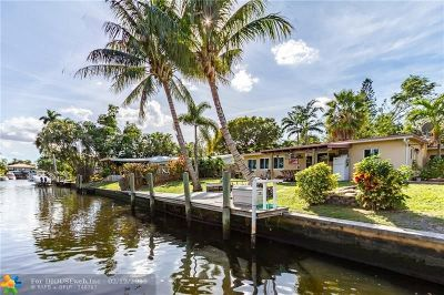 Fort Lauderdale Single Family Home For Sale: 4432 SW 28th Ter