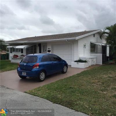 Tamarac Single Family Home Backup Contract-Call LA: 4812 NW 49th Ct