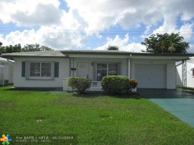 Tamarac Single Family Home For Sale: 8606 NW 57th Ct