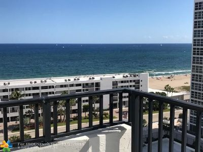 Pompano Beach Condo/Townhouse For Sale: 531 N Ocean Blvd #1502