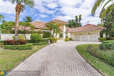 Boca Raton Single Family Home For Sale: 17642 Bocaire Way