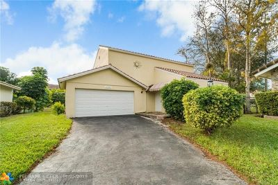 Coral Springs FL Single Family Home For Sale: $319,000
