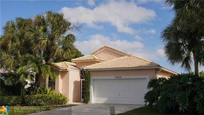 Boynton Beach Single Family Home For Sale: 10836 Fillmore Dr
