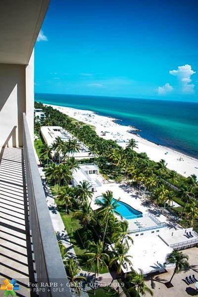 Miami Beach Condo/Townhouse For Sale: 2625 Collins Ave #1604