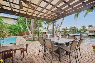 Fort Lauderdale Single Family Home For Sale: 2710 NE 18th St