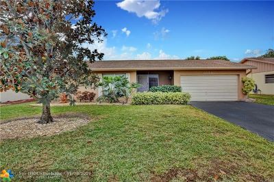 Coral Springs Single Family Home For Sale: 9820 NW 23rd Ct