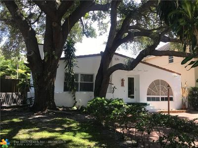 Fort Lauderdale Single Family Home For Sale: 1009 SE 7th Street