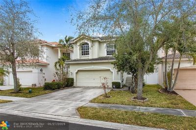 Coral Springs Single Family Home Backup Contract-Call LA: 10273 NW 7th St