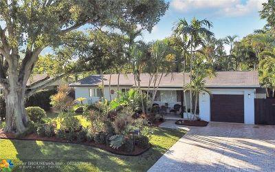 Wilton Manors Single Family Home Backup Contract-Call LA: 400 NE 28th St