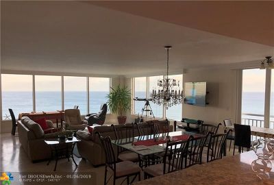 Highland Beach Condo/Townhouse For Sale: 3015 S Ocean Blvd #1104