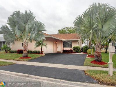 Tamarac Single Family Home Backup Contract-Call LA: 7625 NW 88th Way