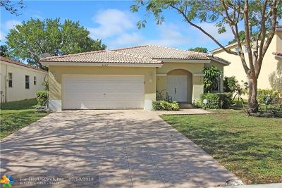 Coconut Creek Single Family Home For Sale: 4445 NW 45th Ter