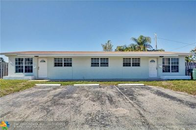 Oakland Park Multi Family Home For Sale: 391 NE 43rd St