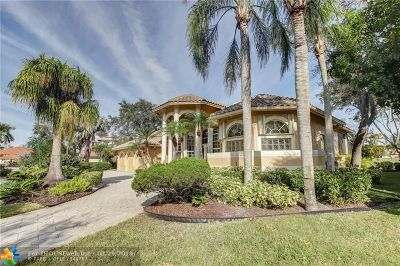 Coral Springs Single Family Home For Sale: 1729 NW 126th Dr