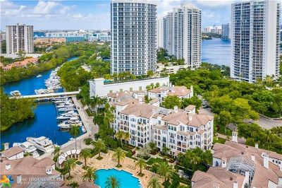 Aventura Condo/Townhouse For Sale: 3900 Island Blvd #B306