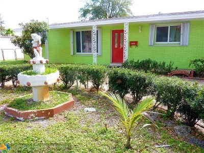 Plantation Single Family Home For Sale: 4280 NW 4th St