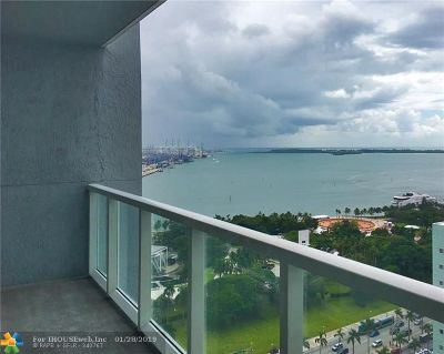 Miami Condo/Townhouse For Sale: 244 Biscayne Blvd #2307
