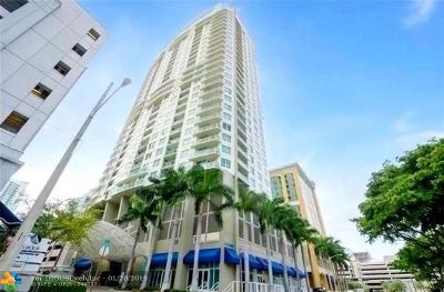 Fort Lauderdale Condo/Townhouse For Sale: 350 SE 2nd St #2880
