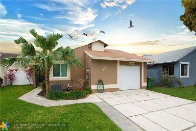 Pembroke Pines Single Family Home Backup Contract-Call LA: 11030 SW 13th St