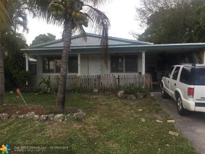 Fort Lauderdale Single Family Home For Sale: 233 SW 21st St