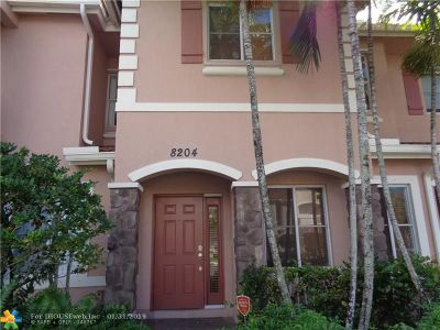 Miramar Condo/Townhouse For Sale: 8204 SW 25th Ct #102