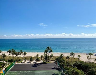 Lauderdale By The Sea Condo/Townhouse For Sale: 4900 N Ocean Blvd #1117