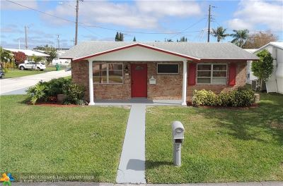 Tamarac Single Family Home For Sale: 4580 NW 16th Way