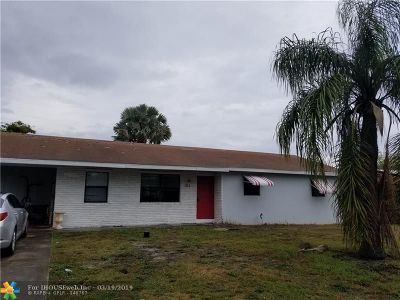Boynton Beach Single Family Home For Sale: 193 SE 27th Ave