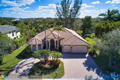 Parkland Single Family Home For Sale: 9350 NW 62nd Ct