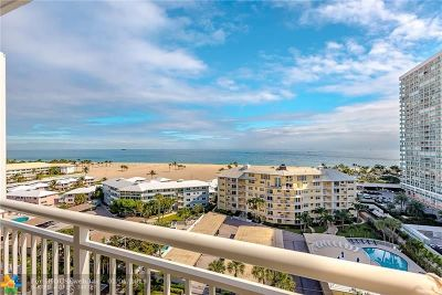 Fort Lauderdale Condo/Townhouse For Sale: 1920 S Ocean Dr #1101