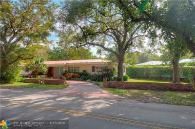 Coral Gables Single Family Home For Sale: 198 W Sunrise Ave