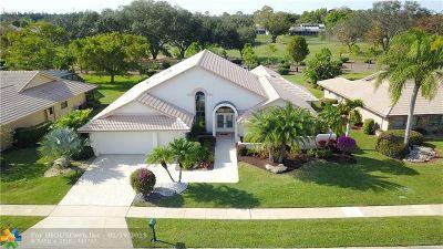 Boca Raton Single Family Home For Sale: 10655 Boca Woods Ln