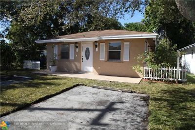 Oakland Park Single Family Home Backup Contract-Call LA: 3330 NE 5th Ave