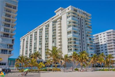 Pompano Beach Condo/Townhouse For Sale: 1000 S Ocean Blvd #PHP