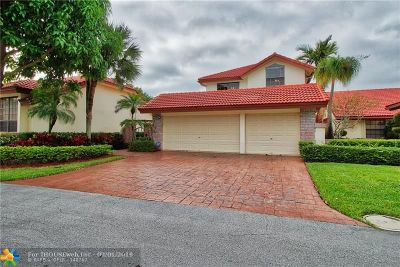 Boca Raton Single Family Home For Sale: 21669 Town Place Dr