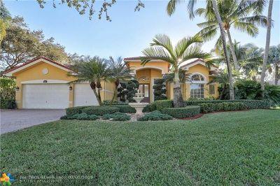 Davie Single Family Home For Sale: 2843 E Lake Vista Cir