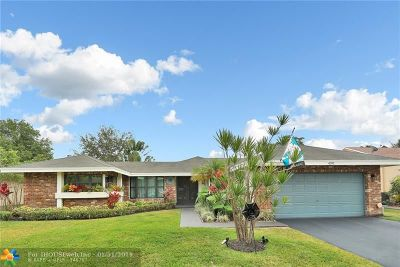 Coral Springs Single Family Home For Sale: 4391 NW 112th Ave