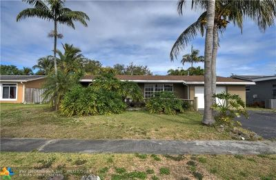 Sunrise Single Family Home For Sale: 11601 NW 33rd St