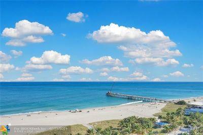 Pompano Beach Condo/Townhouse For Sale: 328 N Ocean Blvd #1507