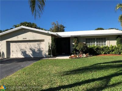 Coral Springs Single Family Home For Sale: 12105 NW 23rd Mnr