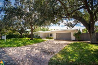 Fort Lauderdale Single Family Home For Sale: 2539 NE 26 Terrace