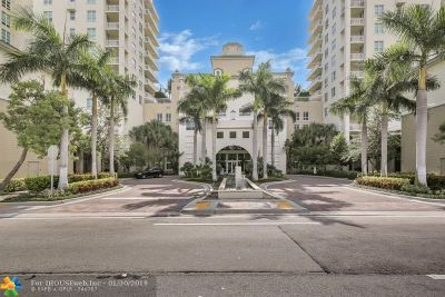Boynton Beach Condo/Townhouse For Sale: 350 N Federal Hwy #1215 S