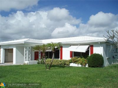 Pompano Beach Single Family Home For Sale: 391 NW 25th Ct