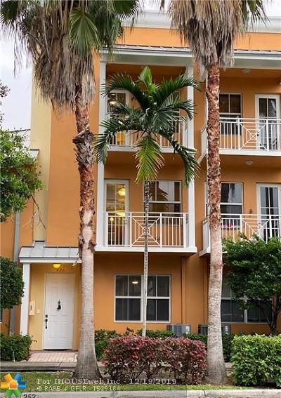 Fort Lauderdale Condo/Townhouse For Sale: 420 SW 13 Terrace #420