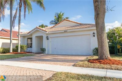 Coral Springs Single Family Home For Sale: 5557 NW 125th Ter