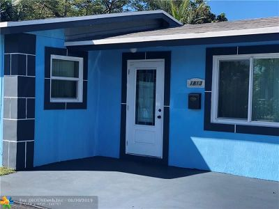 Fort Lauderdale Single Family Home For Sale: 1813 NW 9th Ave