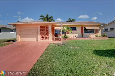 Tamarac Single Family Home For Sale: 4700 NW 47th Ter
